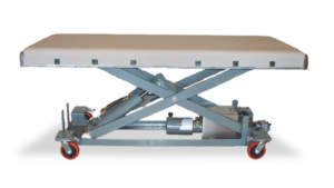 Modified Portable Floor Model Surgery Table