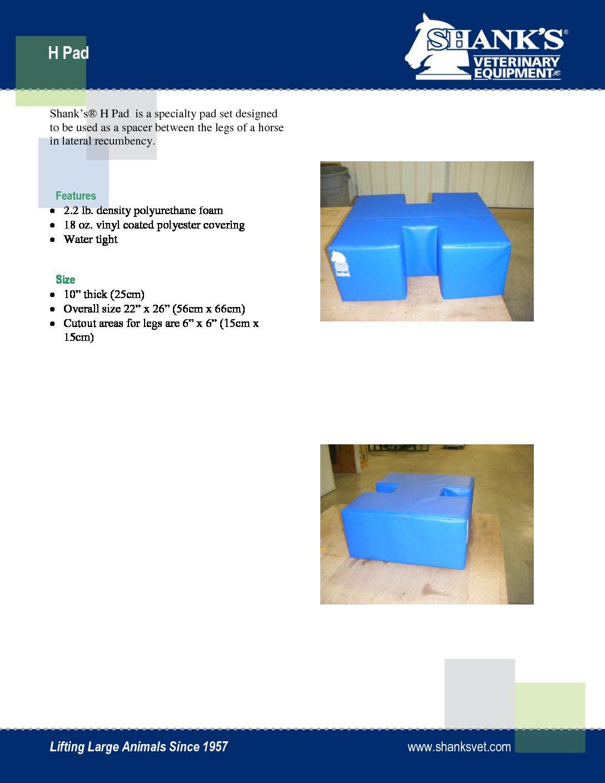 Tech Sheet H Pad