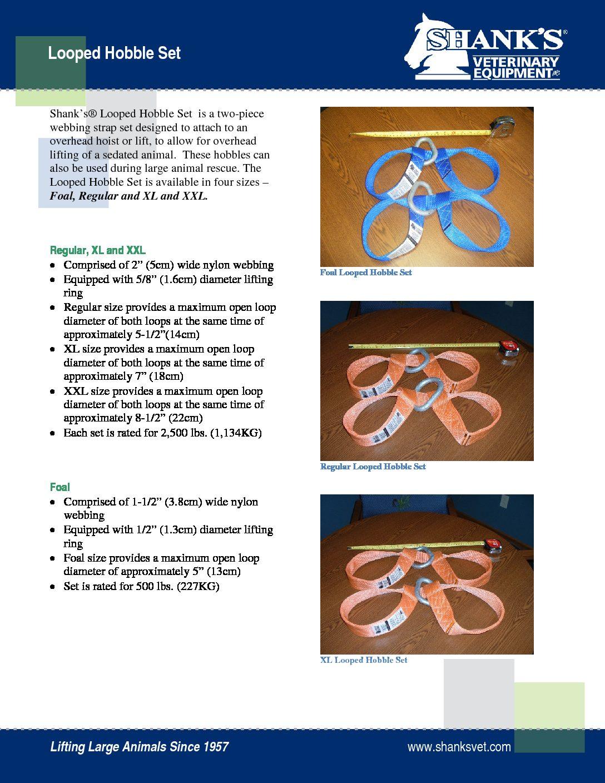 Tech Sheet Looped Hobble Set