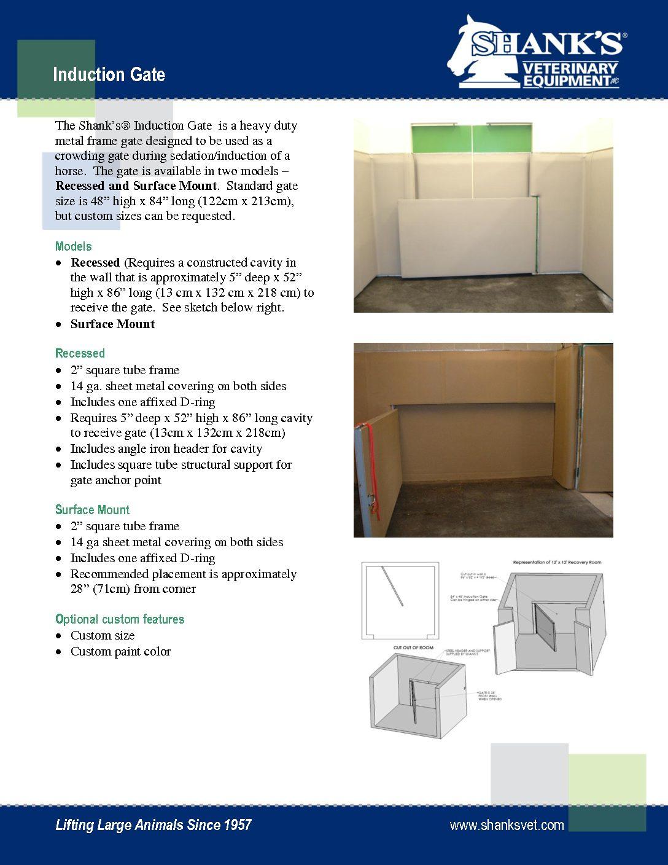 Tech Sheet Induction Gate